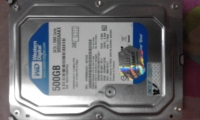 Hdd WD500GB